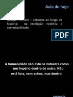 Relacao Homem Natureza 2019