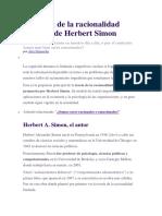 Concepto de Racionalidad Limitada-H Simon.docx