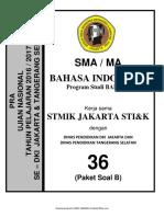 Pembahasan Soal Pra UN B. Indonesia SMA Bahasa Paket B (36) 2018.pdf