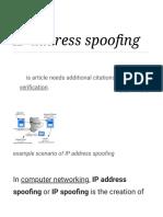 IP address spoofing - Wikipedia.pdf