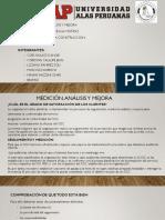 ANALISIS, MEDICION Y MEJORA NORMA ISO 9001