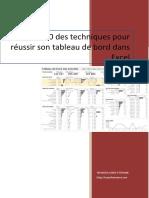 Top 10 Techniques Tableaux de Bord Dans Excel