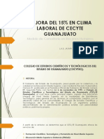 1. Plan Estrategico en Clima Laboral de Cecyte Guanajuato