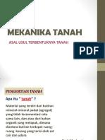 Slide Tsp204 1 Asal Usul Tanah
