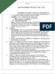 Principle and Foundation 2