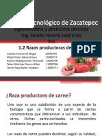 Razas Productoras de Carne