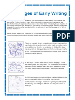 The Stage of Early Writing