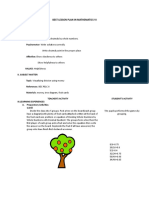 Best Lesson Plan in Mathematics Vi-
