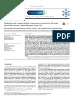 Producción y Caracterización de La Proteína Neurosecretora GM Usando Células de Escherichia Coli y Ovario de Hámster Chino