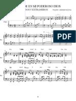 GRANDE ES MI PODEROSO DIOS. PIANO Y TECLADO.pdf
