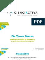 Cienciactiva PTE CYTED 2017