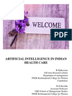 ARTIFICIAL INTELLIGENCE IN INDIAN HEALTH CARE - PPT.pptx