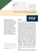 Modelo Padrao de Artigo Para Publicacao No Anuario Discente