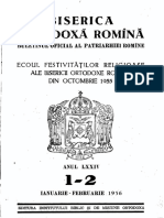Biserica Ortodoxa Romana 1956 Nr.1-12