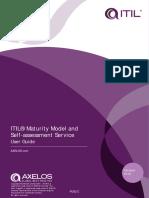 ITIL Maturity Model SA User Guide v1 2W
