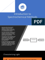 Analytical Chem Week 11-12 Introduction to Spectrochemical Methods and Spectrophotometry