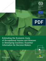 ILO Estimating the Economic Costs PUBLISHED 2016