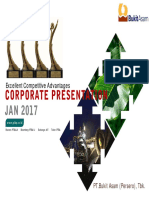 Corporate Presentasi Jan 2017