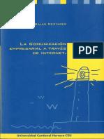 La comunicación empresarial a través de Internet.pdf
