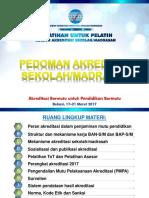 ToT02 _Pedoman Akreditasi SM 2017.03.01 OK.ppt