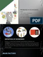 Problems in Economics