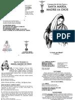 Consagracion a La Madre de Dios (Rosario)