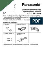 Panasonic KX DT321