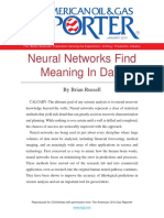 Neural Networks Find Meaning In Data
