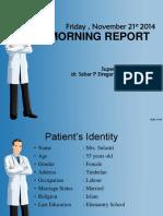 Morning Report 21 November 2014