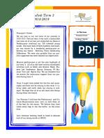 Newsletter Term 3