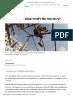 Inequality in India-  World Economic Forum