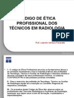 Código de Ética Profissional Dos Técnicos Em Radiologia1