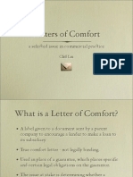 Letters of Comfort FINAL