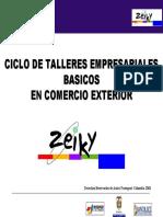 Taller Empresarial Exportacion de Servicios