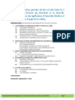 Tema 1 CARACTERISTICAS GENERALES DEL NIÑO
