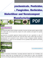 Books on Agrochemicals, Pesticides, Insecticides, Fungicides, Herbicides, Biofertilizer and Vermicompost Manufacturing