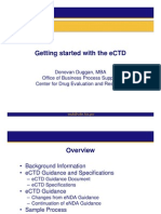 Getting Started With eCTD