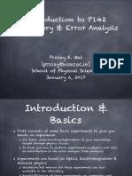 P142 Error Analysis
