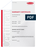 Certificate 28387221