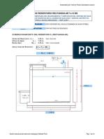 Diseño de Reservorio Rectangular de 12m3 (PCA) - 1er Metodo