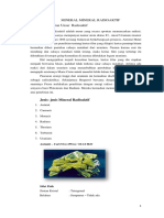 Metode Analisis Mineral