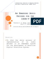 An Embedded Audio Decoder for the ISDB-T