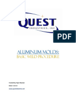 Aluminum Mold Welding Procedure