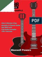 Guitar Exercises Made Simple_ Play Better Guitar Guaranteed!
