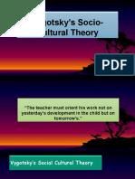 Vygotsky's Socio-Cultural Theory