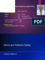 PLENNARY LECTURE 1. Revisi 1 - PROF. LUKMAN - PRFEthics & Patient Safety.pdf