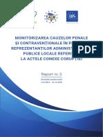 Raport_Monitorizarea Cauzelor Penale_nr.3 f