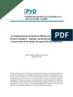 Mineria y Gestion Aguas Internacionales