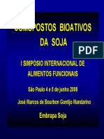 Palestra Compostos Bioativos Da Soja - SBAF Junho 2008