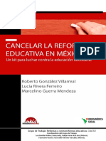 Cancelar la reforma Educativa en México.pdf
